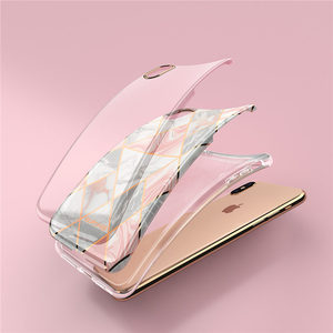 Image 5 - For iphone Xs Max Case SUPCASE UB Metro Premium Slim Soft TPU Case Plated Marble Clear Protective Back Cover For iPhone X & XS