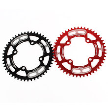 44 T/46 T/48 T/50 T/52 T Sepeda Chainring 104BCD Gunung Sepeda Single ring Disc Sempit Lebar Chainring Sepeda Bagian(China)