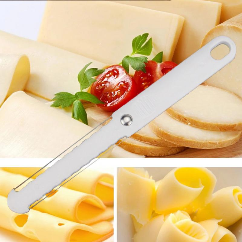 <font><b>Cheese</b></font> slicer Cut Foie Gras Multifunction Thin Cooking Baking Tools <font><b>Plastic</b></font> Wired <font><b>Cheese</b></font> Slicer Foie Gras image