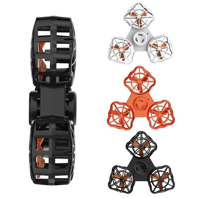 Игрушка для сброса давления Автоматическая подзарядка вращающийся низкоскоростной Летающий пропеллер Летающий Спиннер для взрослых и детей