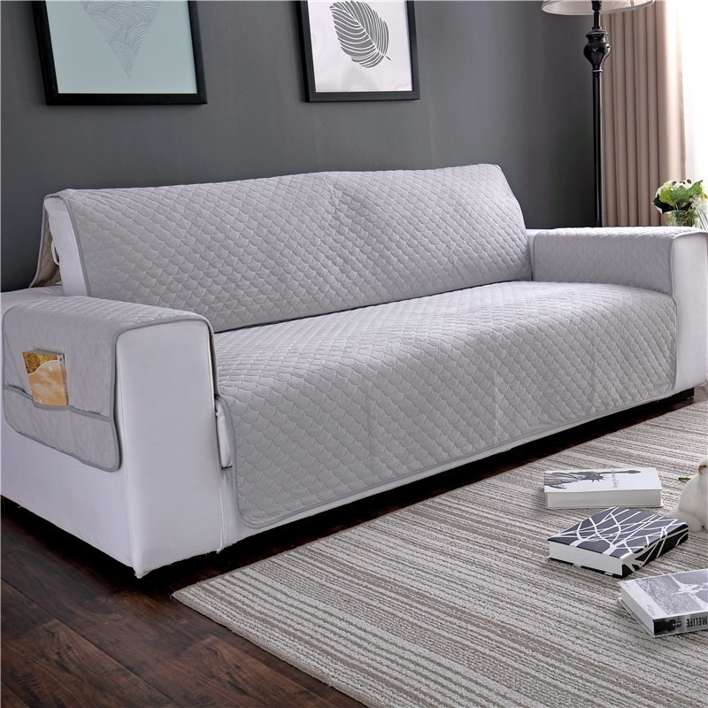 Plush Sofa Couch Cover Slipcover With Pocket for Dog Pet Kid Anti Slip Armchair Furniture Protector 2019 Newest Elegant DesignPlush Sofa Couch Cover Slipcover With Pocket for Dog Pet Kid Anti Slip Armchair Furniture Protector 2019 Newest Elegant Design
