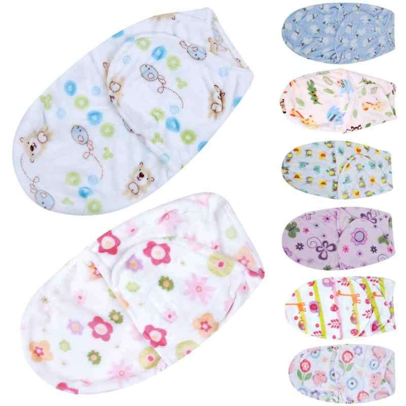 Swaddling Baby Sleepsack Baby Blanket Swaddle Wrap Polar Fleece Fabric Envelopes Soft Infant Bedding Winter Sleeping Bag Warm