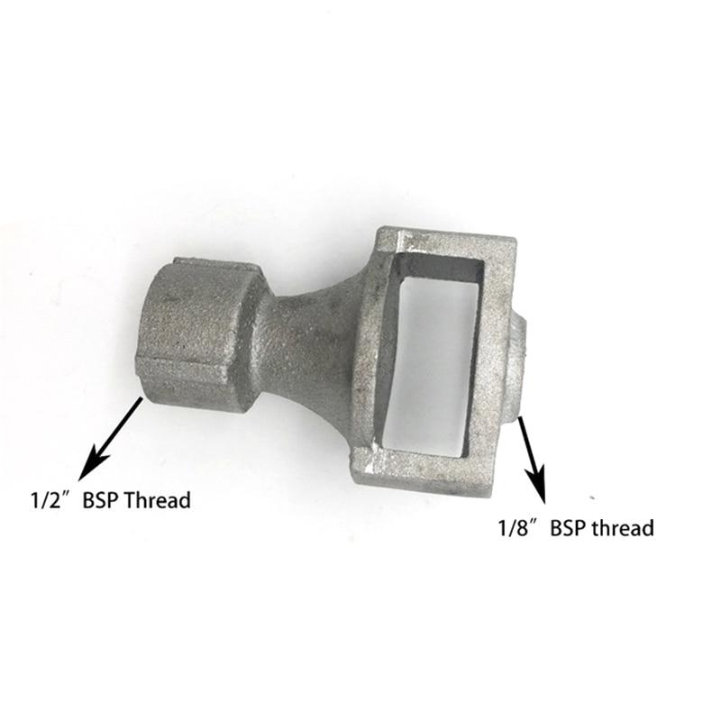 Sand Cast Aluminium Venturi Burner Part For Heaters With 1/2