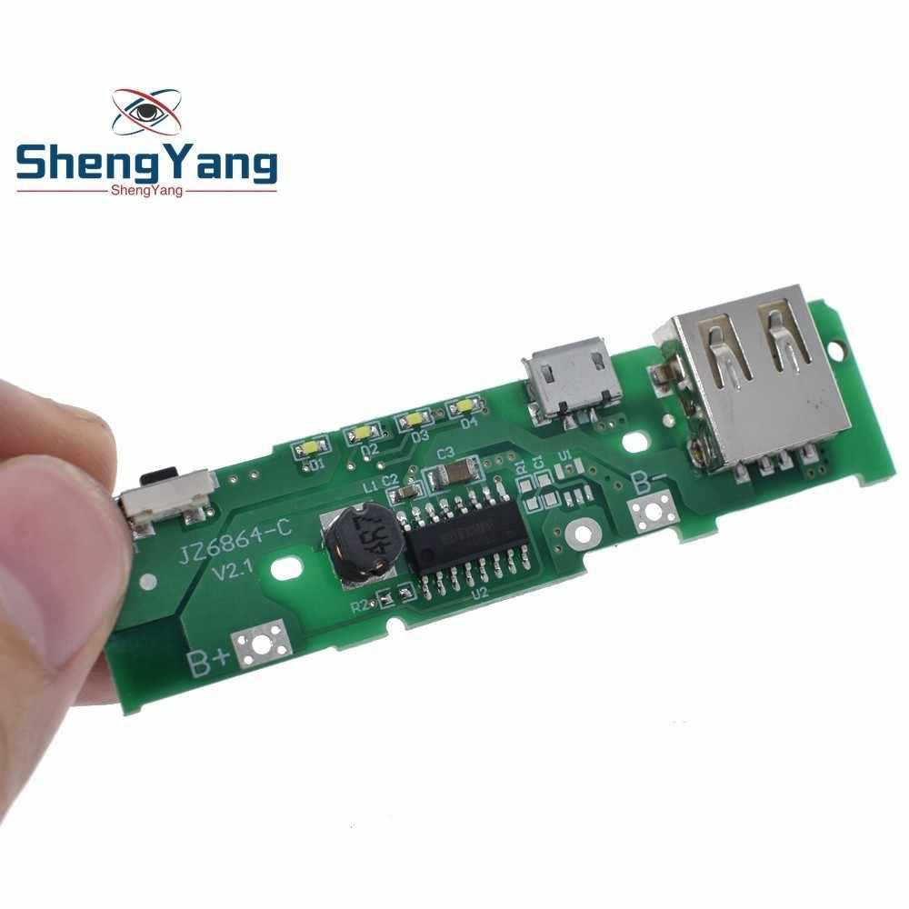 ShengYang 5V 1A Module de chargeur de batterie externe carte de charge Module d'alimentation de poussée pour Xiaomi batterie externe bricolage Mobile