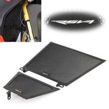 Подходит для Aprilia RSV4 детали мотоцикла алюминий рамки решетка радиатора масло для гриля крышка кулера Протектор