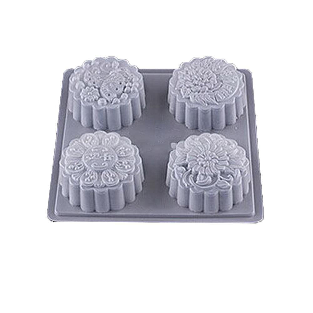 Lemonbest Bakeware-Tool Cake-Mold Mooncake-Pattern Plastic Home-Baking-Shop for Fits