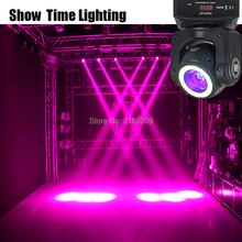 Super brigh Beam 60W LED Moving Head With strip light RGBW 4 IN 1 Beam and Wash effect moivng head DMX512 stage for KTV DJ Party