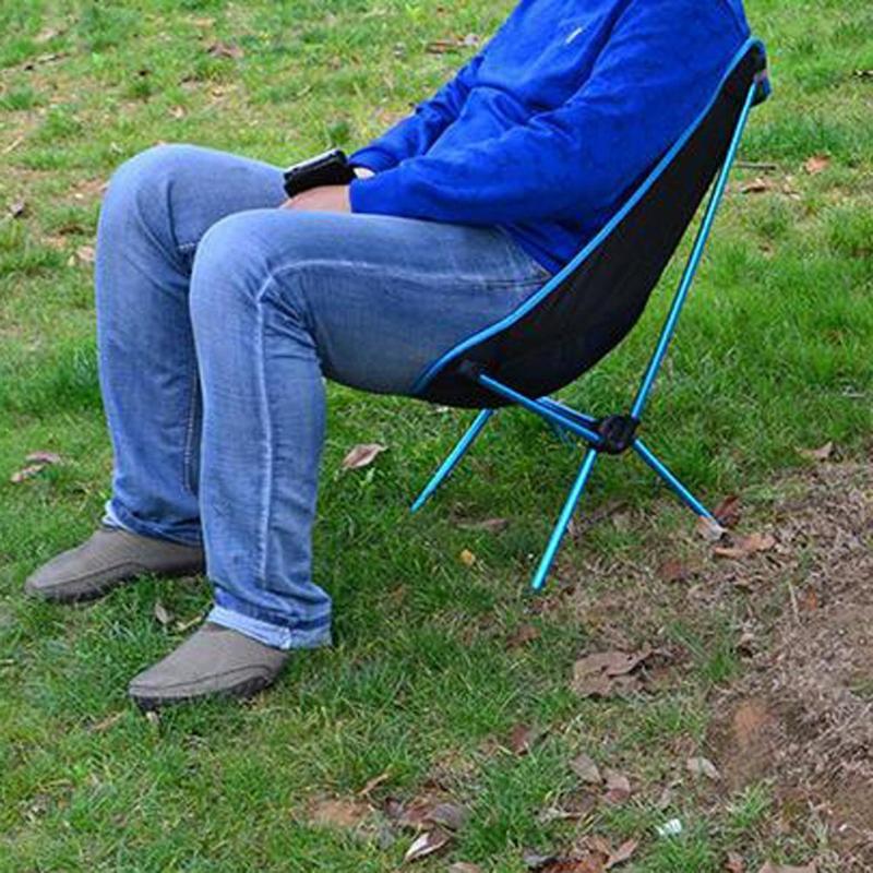 Draagbare Lichtgewicht Opvouwbare Camping Stoel Seat Voor Outdoor Vissen Wandelen Leisure Picknick Strand Stoel Bbq Vouwen Kruk