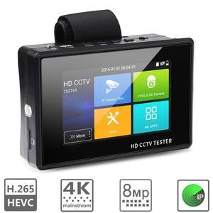 Image 3 - Wsdcam yeni 4 inç bilek CCTV HD kamera test cihazı H.265 4K IP 8MP TVI 4MP CVI 5MP AHD Analog 5 in 1 CCTV Tester monitör WIFI