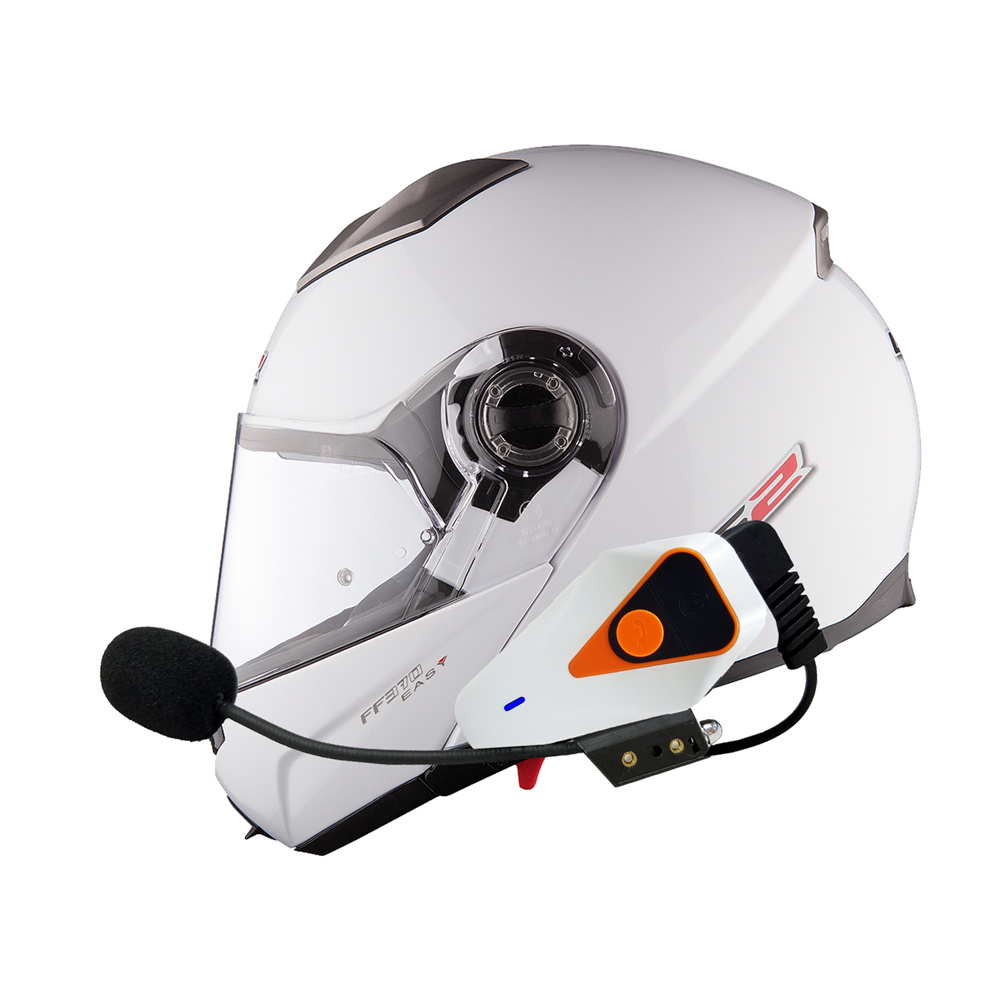 1000m IPX5 Waterproof Moto Helmet BT Wireless Headset Handsfree Motorcycle Bluetooth Intercom For Motorcycle With FM Radio