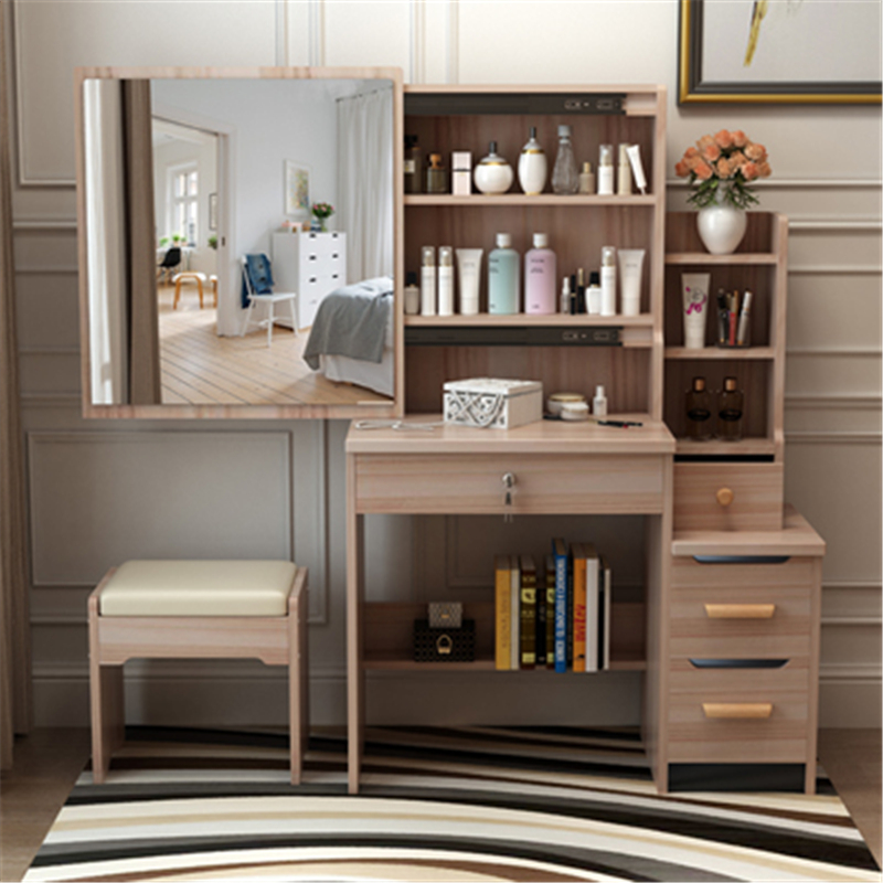 Tablo Dresuar maquillage tiroir Coiffeuse De Maquiagem Set Aparador Mesa bois Penteadeira Table chambre meubles Quarto commode