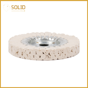 Image 3 - 6 inch Cotton Airway Buffing Cloth Wheel Polishing Pad 20mm Bore for a Mirror Finish on Aluminum And Stainless Polishing Tool