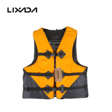 Lixada Adult Safety Life Jacket Professional Polyester Lightweight Survival Vest Swimming Boating Drifting Fishing Tackle 2019 2019 professional polyester jacket vest lifeboat colete para water sports swimming surf drifting