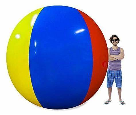 Free Shipping High Quality Giant 80-200cm Inflatable Beach Ball Sea Swimming Pool Water Toy Four-color Beach Ball Beach Ball