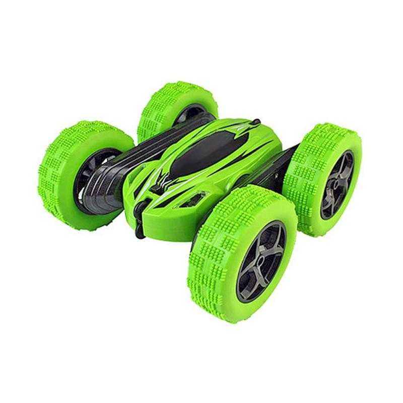 828 1:24 360 degree Rotating Flips Toy RC Car Kid Toys with Light  20m Control Distance RC Car Toys For Children