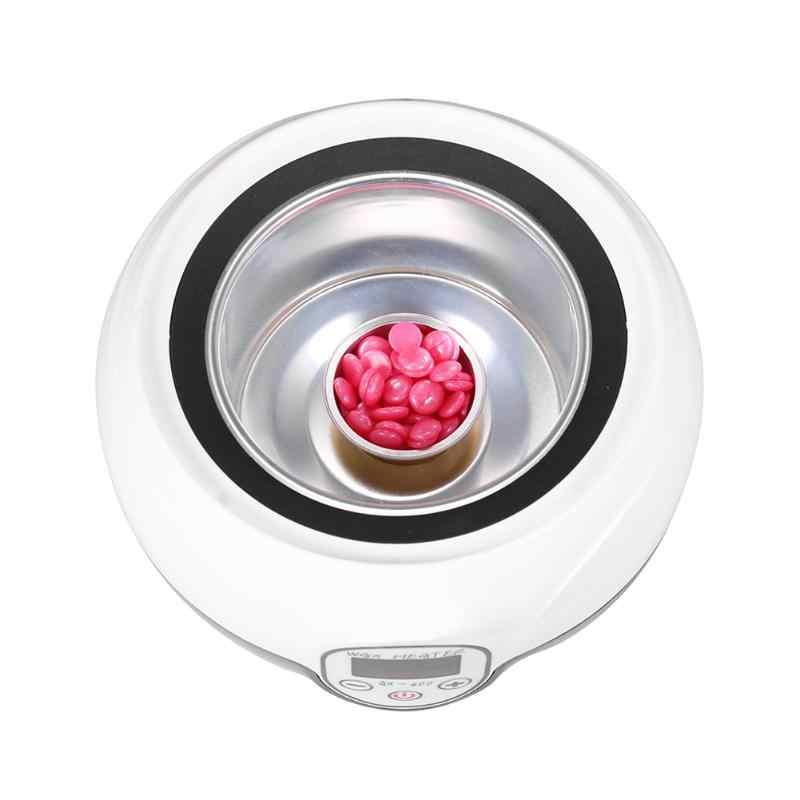5/10 Emas Bulat Bentuk Mencair Lilin Bowl Aluminium Foil Rambut Removal Bean Depilatory Krim Mangkuk untuk Film Panas Keras Waxing pelet
