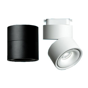 Image 1 - GD 4pcs LED Track Light 5W 7W 10W 12W LED Recessed Downlight AC85 265V Open Mounted Downlight Track Rail Light Adjustable Spot