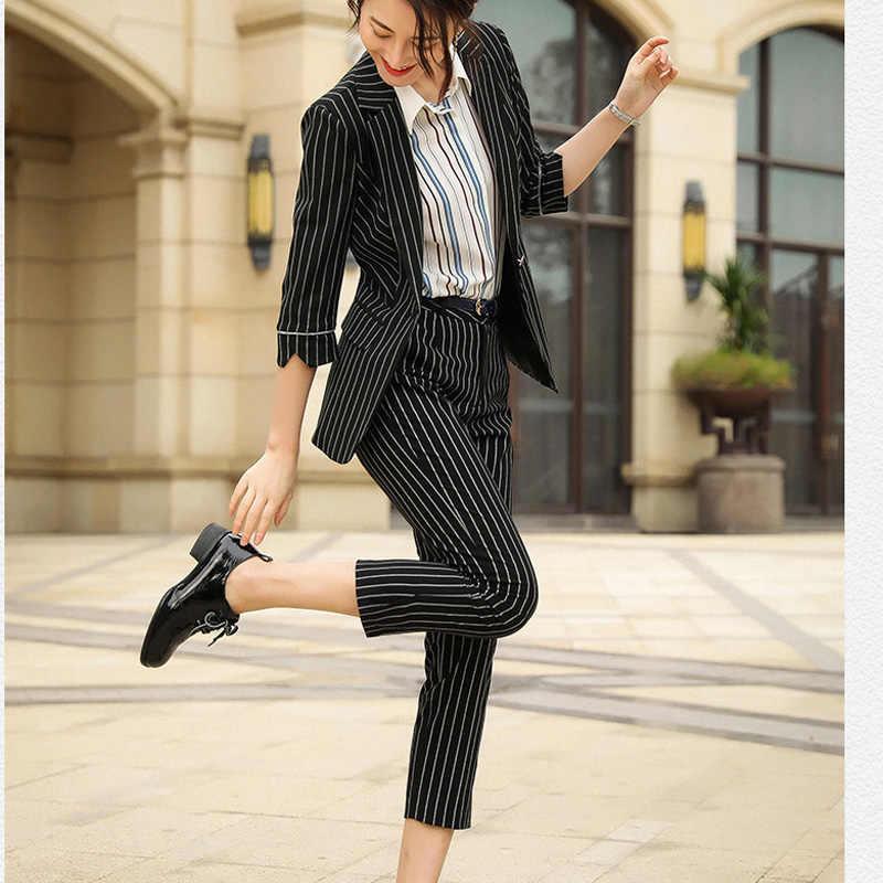 أرضية مشهد جاف تمام ا Pantalon De Vestir A Rayas Mujer Secure Folders Com