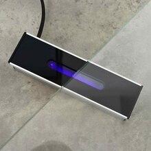 4 Вт Световой индикатор алюминиевый корпус УФ-лампа оловянный боковой детектор оловянный индикатор лица, чтобы сказать стекло оловянный боковой инспектор для стекла