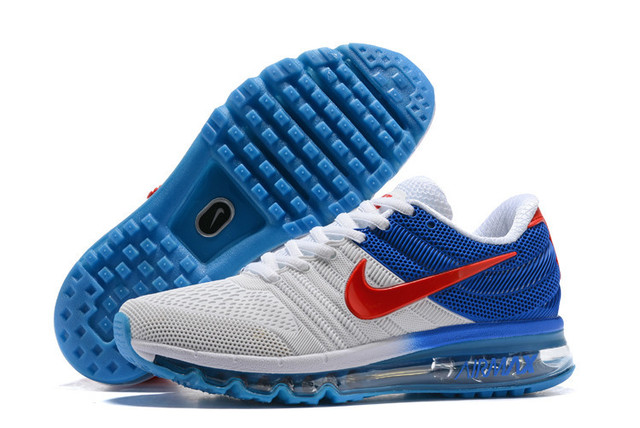 best loved a15c3 d956f Original Classic Nike Air Max 2017 Men s Running Shoes Full Palm Nano Disu  Technology Male Cushioning Sole Track Sneakers US7-12