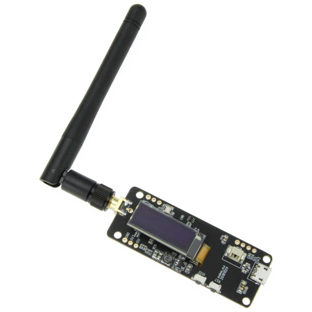 למעלה Esp32 עין דג-עדשת מצלמה מודול פיתוח לוח Ov2640 מצלמה Sma Wifi 3Dbi אנטנה 0.91 Oled מצלמה לוח