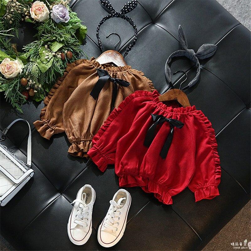 1-6 T Kleinkind Kinder Baby Mädchen Kleidung Rüschen Langarm Bluse Elegante Bowknot Boho Strand Sommer Tops Nette Shirts Outfits