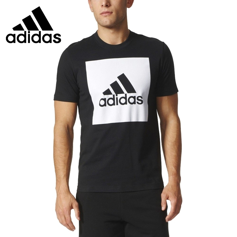 Adidas Original New Arrival 2019 BIGLOGO Men Skateboarding T-shirts Short Sleeve Breathable Cotton Sportswear #S98724Adidas Original New Arrival 2019 BIGLOGO Men Skateboarding T-shirts Short Sleeve Breathable Cotton Sportswear #S98724