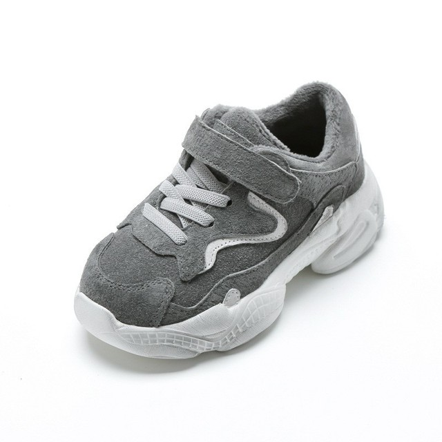 Dirty Kids Sneakers Fashion Children Autumn and Warm Winter Shoes for Boys and Girls Sports Tennis 1 3 4 6 8 10 years