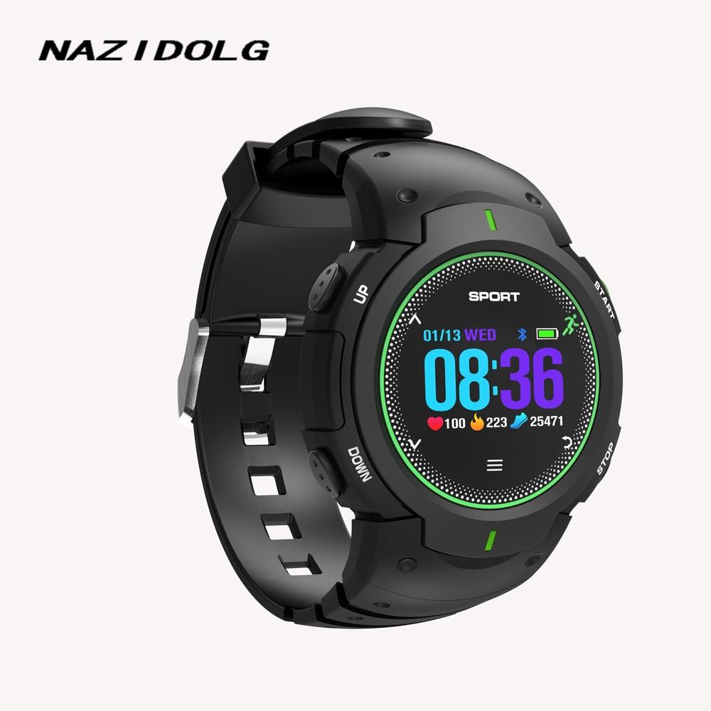 NAZIDOLG Forte Montre Smart Watch étanche amateur de plein air professionnel montre de mode Physique exercice utilisez F13