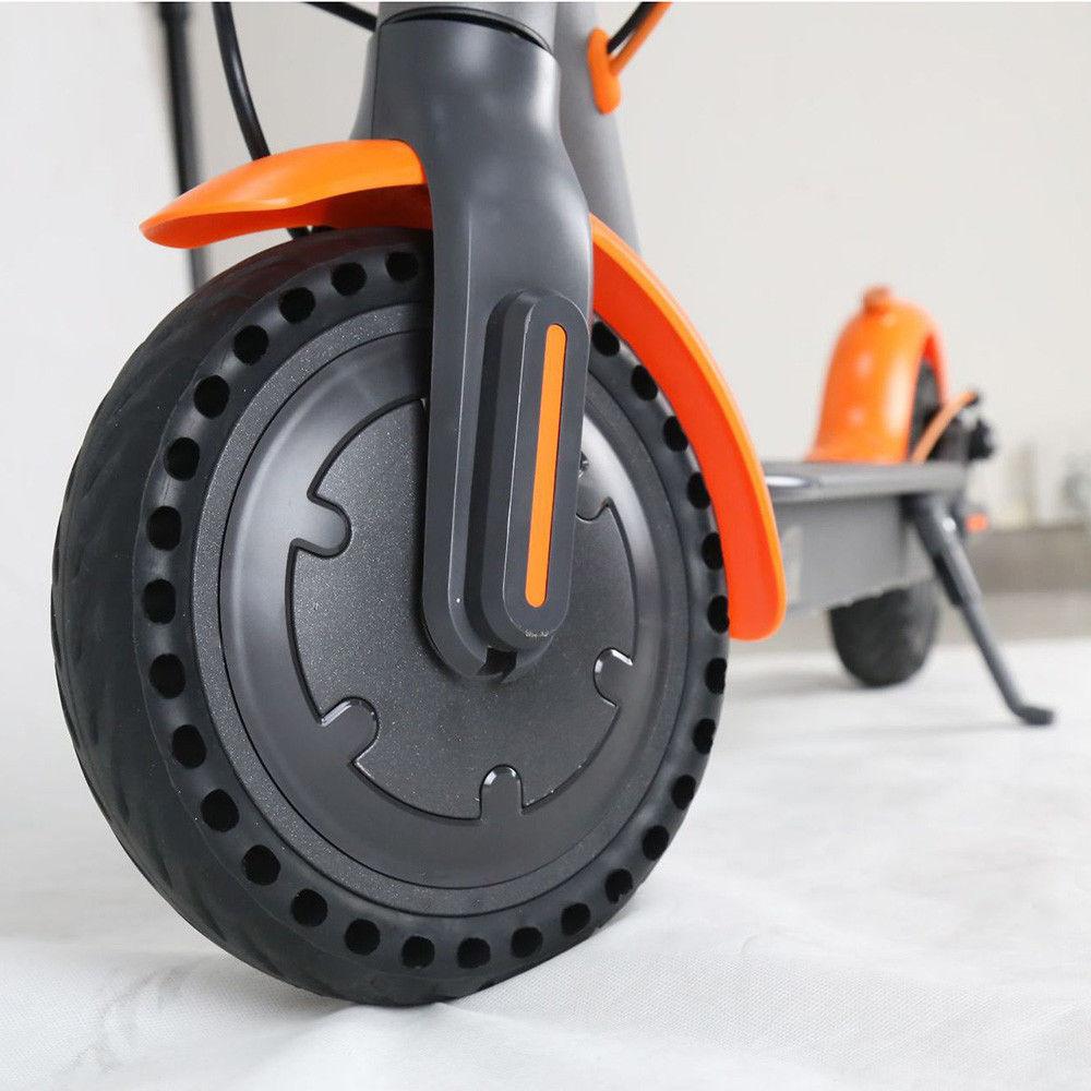 Ensemble de pneus en caoutchouc anti-crevaison de 8.5 pouces pneu de moyeu de roue de Scooter électrique pour Xiaomi Scooter M365 pneu solide 250 W pièces de pneu avant