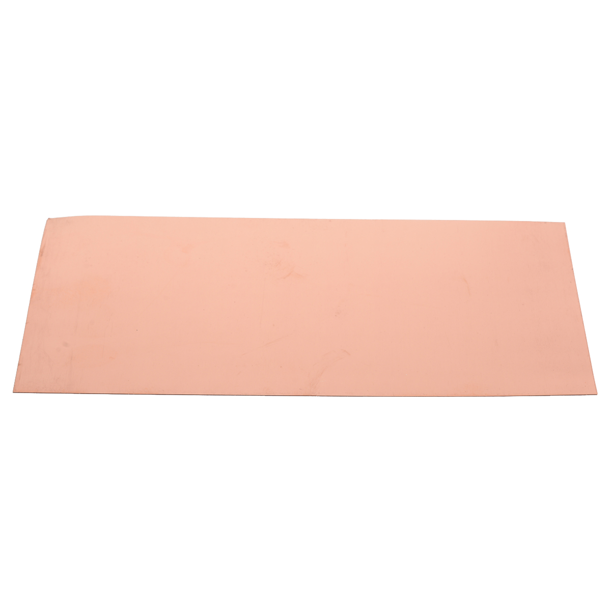 1pc High Purity 99.9% Copper Sheet Pure Cu Metal Plate 0.5mm Thickness Foil Panel Practical Industry Supply 100*200mm