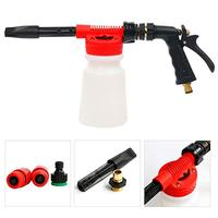 Car Washing Unique Foam Cleaning Gun Car Cleaning Washing Spray Foam Gun Snow Foamer Lance Water Soap Shampoo Sprayer Tool 900ml