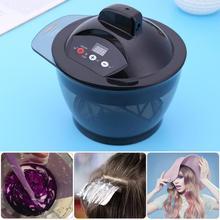 Professional Timing USB Electric Hair Coloring Bowl Automatic Hair Dyeing Cream Mixing Bowl Hair Styling Tools US Plug