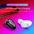 Мини Bluetooth наушники  одна гарнитура  беспроводная Спортивная IPX5 Водонепроницаемая гарнитура  свободные руки  стерео наушники для телефона ...