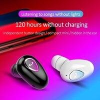 Mini fone de ouvido esportivo bluetooth  fone de ouvido à prova d'água ipx5  headset estéreo sem fio para celular xiaomi