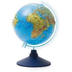 Глобус Земли Globen, физический рельефный, 210мм.