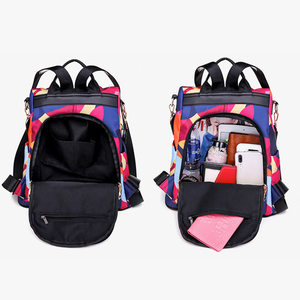 Image 3 - Fashion Anti theft Women Backpacks Multifunction Ladies Large Capacity Backpacks High Quality Waterproof Oxford Female Backpacks