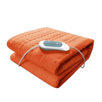 Electric Blanket Heating Pads Throw Over Under Bed Car