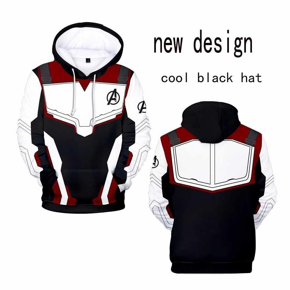 Мстители 4 эндигра квантовое царство косплей костюм толстовки для мужчин с капюшоном Мстители молния конец игры для мужчин s Толстовка Куртка