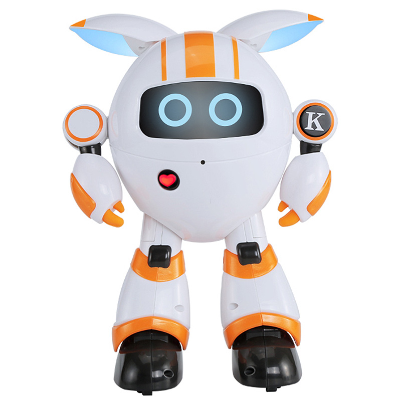 JJRC R14 Intelligent Remote Control Round Robot Support Voice LED Light Walk Slide Movement Interaction For Parents And KidsJJRC R14 Intelligent Remote Control Round Robot Support Voice LED Light Walk Slide Movement Interaction For Parents And Kids