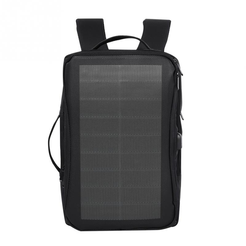 Outdoor Sport Camping Solar Charge Backpack Universal Laptop Tablet Phone Solar USB Charging Port Men Backpack