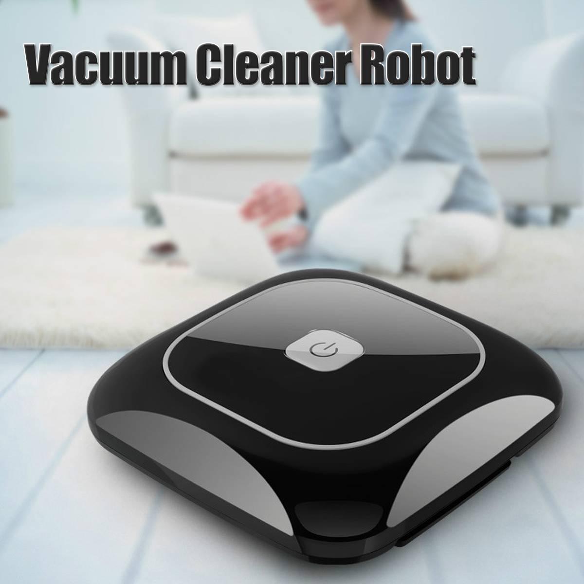 Automatique Robot Aspirateur Puissant Aspiration pet cheveux maison au sec humide essuyant robot de nettoyage Auto Charge vide