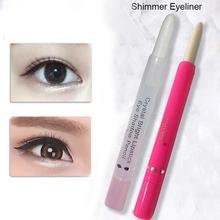 White Shimmer Eyeliner Pencil Highlighter Pen Eye Shadow Illuminator Contouring Highlighter Makeup Bronzer Face Glow Cosmetics все цены