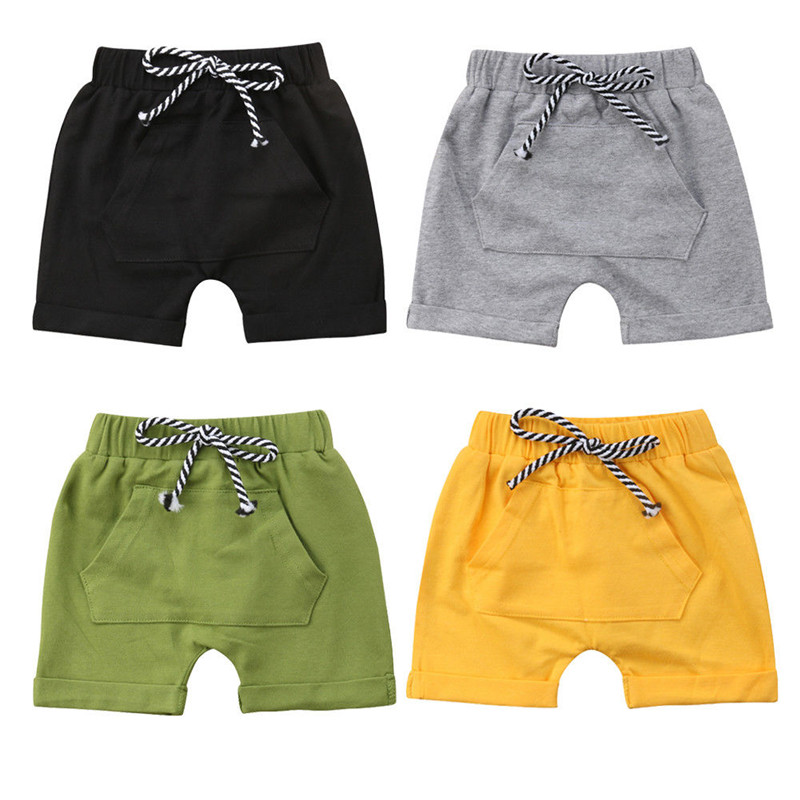 fea36c8019 Summer Toddler Casual Baby Shorts Kids Boy Loose Short Pants Infant Casual  Cotton Loose High Waist Short Trousers