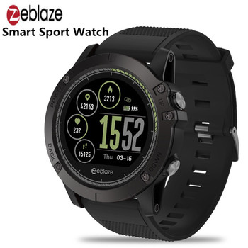 Zeblaze VIBE 3 HR 1.22 inch Sports Smart Watch Bluetooth Call Message Reminder Heart Rate Monitor Blood Pressure Functions g6 tactical smartwatch