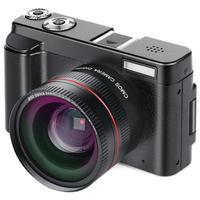 P11 флип экран беспроводной wifi двойной широкоугольный объектив Full HD 1080 P 24MP 16X Zoom цифровая камера видео рекордер Новая цифровая камера