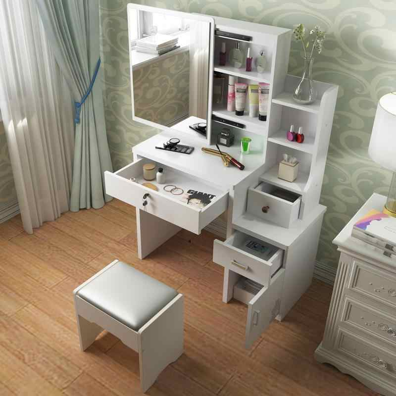 De Maquillaje Camera Da Letto Slaapkamer Cabinet Drawer Comoda Para Toaletka Wood Quarto Korean Bedroom Furniture Table Dresser