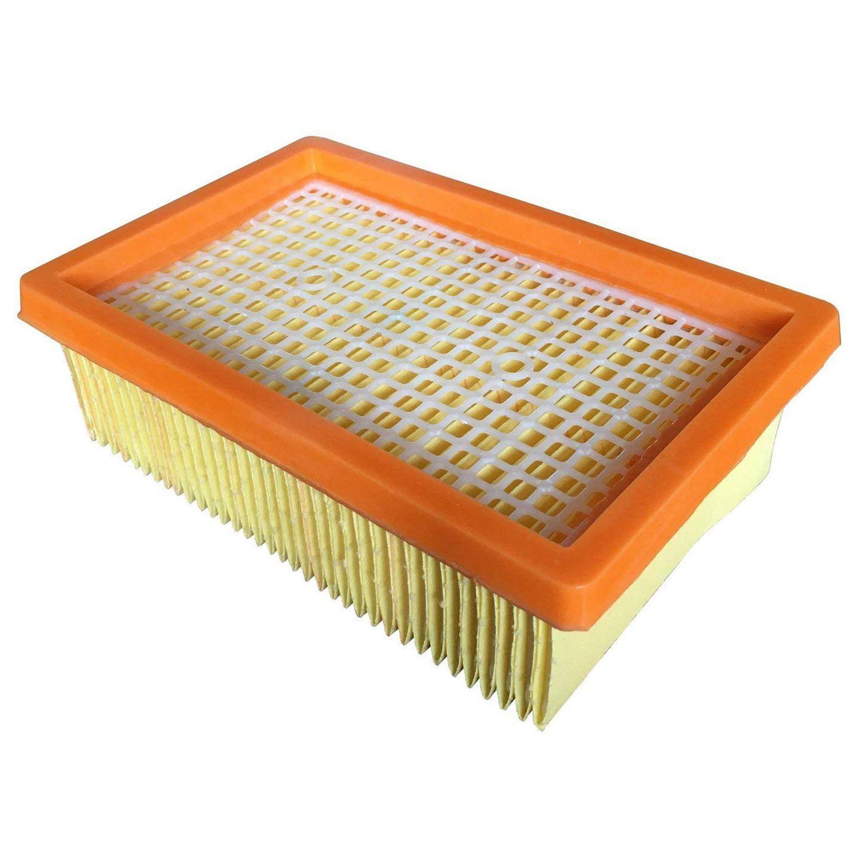 Nova substituição de filtro de aspirador de pó quente para karcher plana plissada mv4 mv5 mv6 wd4 wd5 wd6 p premium wd5