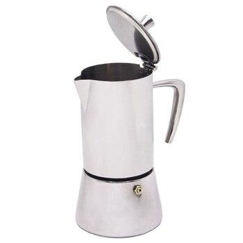Cafetière électrique | Cafetière Inox Cafetière Moka Théière Moka Cuisinière Outil Filtre Percolateur Cafetiere Percolateur