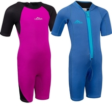 New 2MM Neoprene Kids Wetsuits One Pieces Diving Suits Snorkel Surfing Rash Guards Children Swimsuit surf dive Scubadiving new 2mm neoprene swimsuit kids baby girls boys wetsuits one piece diving suits snorkeling surfing rash guards children swimwear